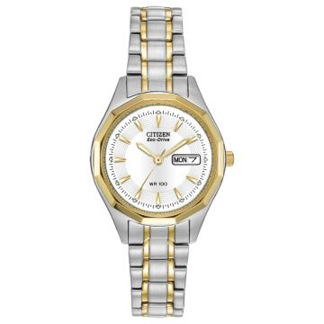 Citizen Eco-Drive Corso Stainless Steel Two-Tone 27mm Women's Watch