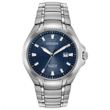 Citizen Eco-Drive Paradigm Super Titanium Silver-Tone 43mm Men's Watch